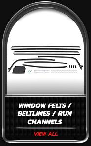 Window Felts Beltlines Run Channels
