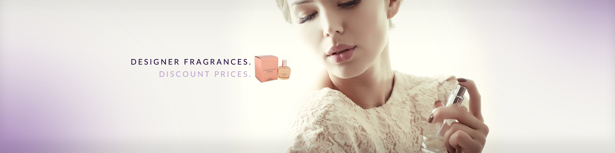 Designer Fragrances. Discount Prices. start shopping