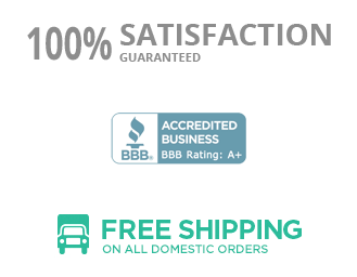 Free Shipping - BBB Accredited - Satisfaction Guaranteed