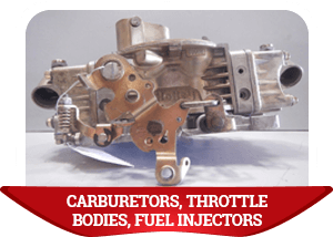 Carburetors, Throttle Bodies, Fuel Injectors