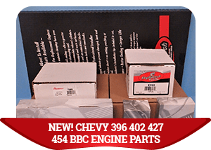 NEW! CHEVY 396 402 427 454 BBC ENGINE PARTS