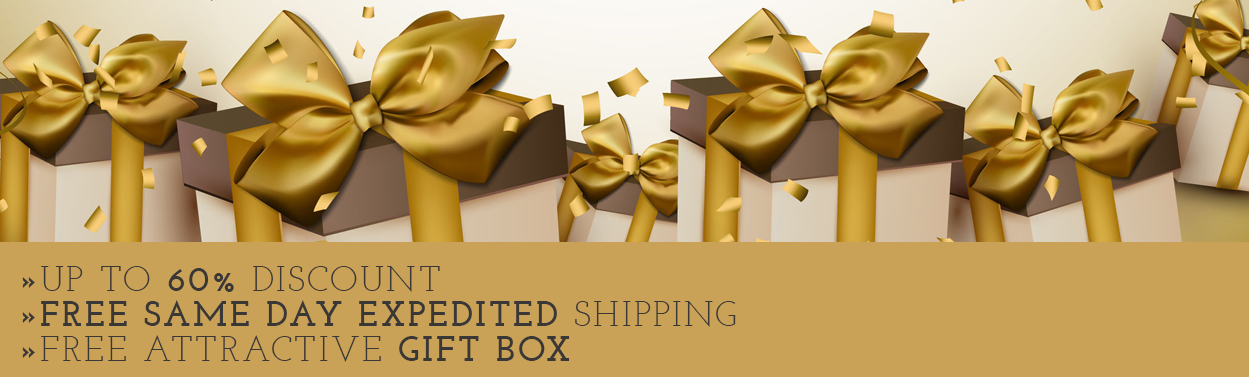 Up to 60% off Discount Free Same day Expedited Shipping