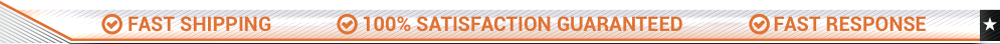Fast Shipping - 100% satisfaction guaranteed - Fast Response