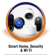 Smart Home, Security &  Wi-Fi