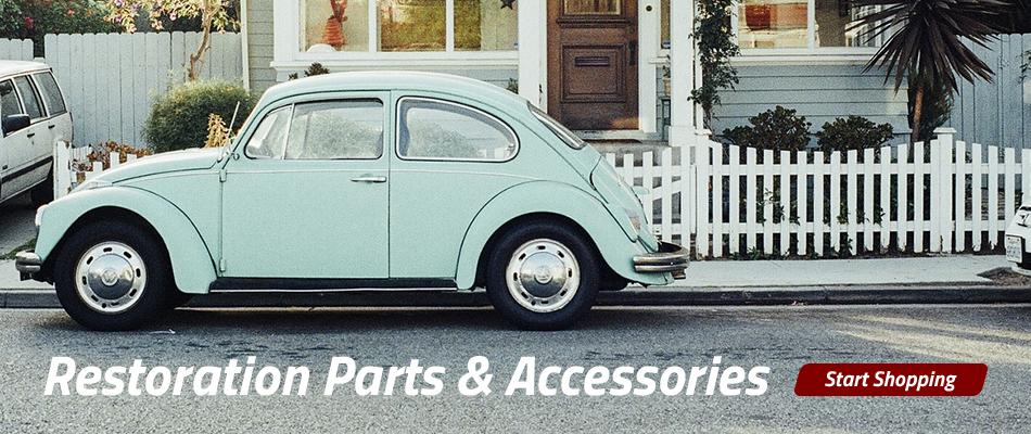 Restoration Parts & Accessories - Start Shopping