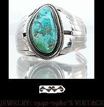 Jewelry: 1940-1980's Vintage