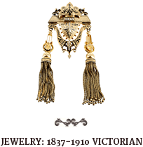 Jewelry: 1837-1910 Victorian