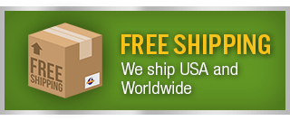 Free Shipping - We ship USA and Worldwide