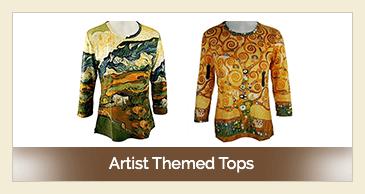 Artist Themed Tops