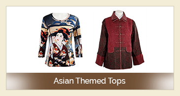 Asian Themed Tops
