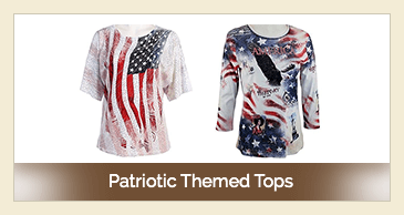 Patriotic Themed Tops