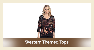 Western Themed Tops