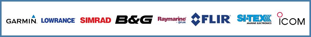 Garmin - Lowrance - Simrad - B & G - Raymarine - Flir - Si-tex - Icom