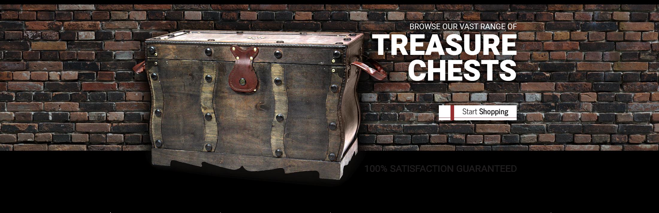 Treasure Chests - Start Shopping