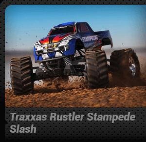 Traxxas Rustler Stampede Slash