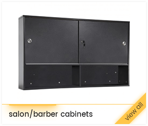 salon/barber cabinets
