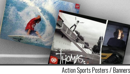 Action Sports Posters / Banners