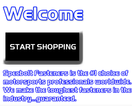 Welcome - START SHOPPING