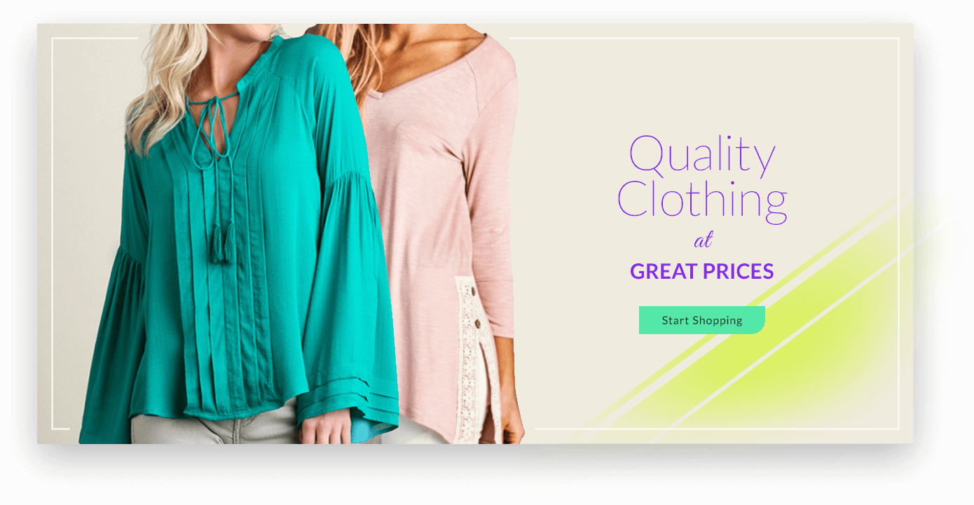 Quality Clothing at Great Prices - Start Shopping