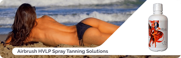 Airbrush HVLP Spray Tanning Solutions