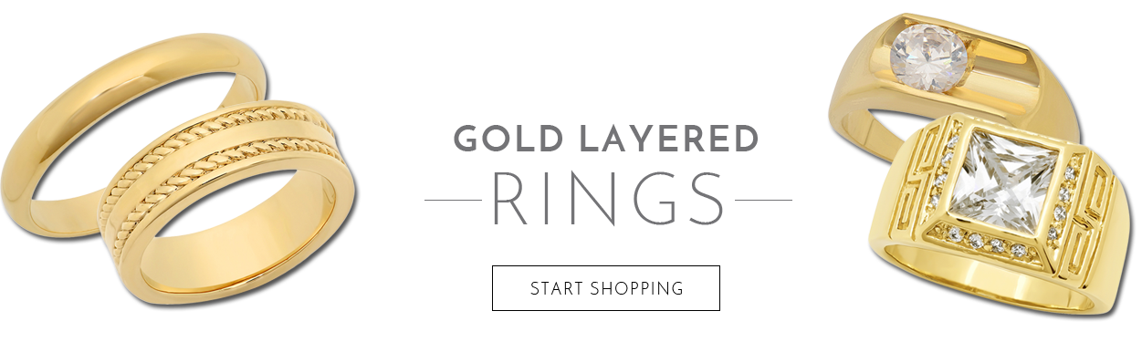 Gold Layered Rings - Start Shopping