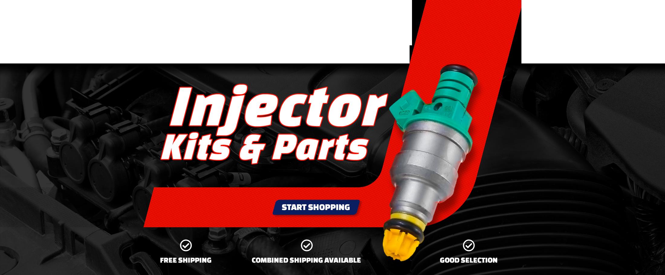 Injector Kits & Parts - Start Shopping