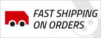 Fast shipping on orders