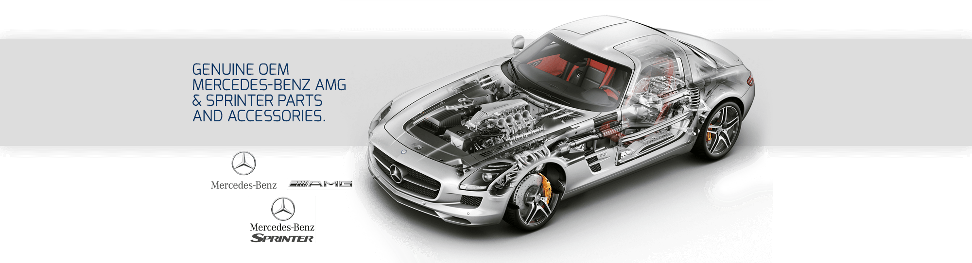 Genuine OEM Mercedes-Benz AMG & Sprinter Parts and Accessories.
