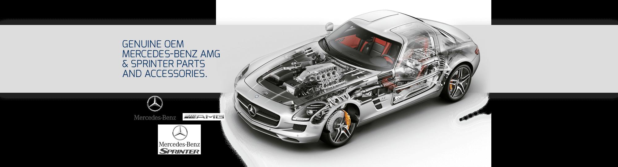 Genuine OEM Mercedes-Benz AMG & Sprinter Parts and Accessories.