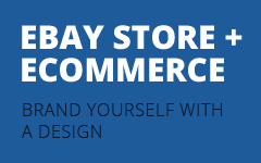ebay store + ecommerce - brand yourself with a design